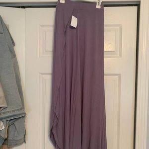 Charlotte Russe light purple skirt